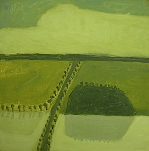 Neridah Stockley - Yellow Landscape
