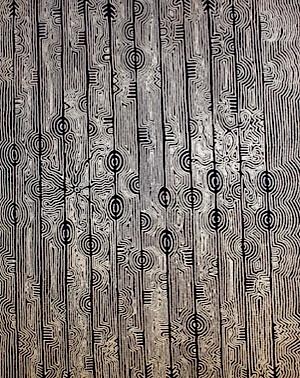 Papunya Tjupi - Yalka Tjukurrpa (Bush Onion) - Mary Roberts Nakamarra
