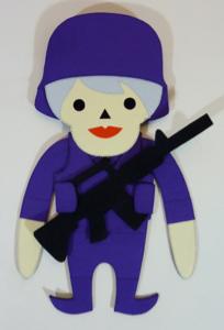Luke Temby - Police - Purple