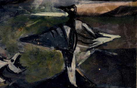 Carl Plate - Untitled (study for a bird)