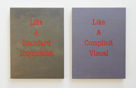 A Quartet of Artists - Lynne Barwick |Like a Standard Inquisition and Like A Complicit Visual