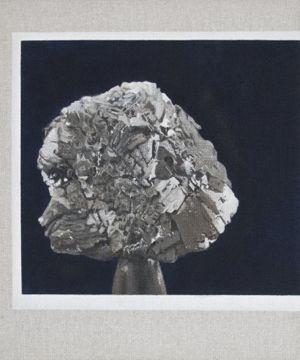 Connie Anthes - Untitled (Copper Portrait / Bjork)