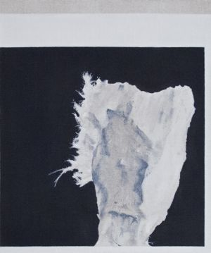 Connie Anthes - Untitled (Asbestos Portrait #2 / Bowie),