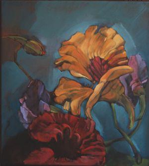 The Artist's Garden - Lana Howe  Nasturium