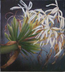 The Artist's Garden - Leanne Harrison Davies  Swamp lily violet
