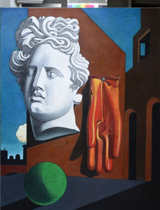 - MARTIN SHARP Graceland: a Reprise of Giorgio de Chirico's Song of Love