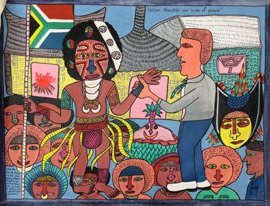 Simon Gende - Nelson Mandela, an icon of peace