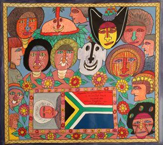 Simon Gende - Nelson Mandela dies