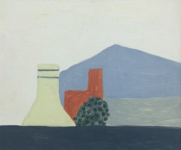 Neridah Stockley - Blue Roof